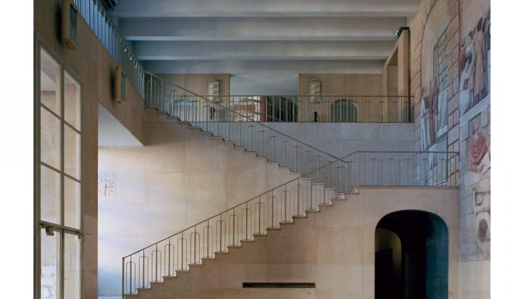 L'atrio di Palazzo Liviano completato
