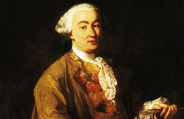 Carlo Goldoni dipinto dal veneziano Alessandro Longhi nel 1757