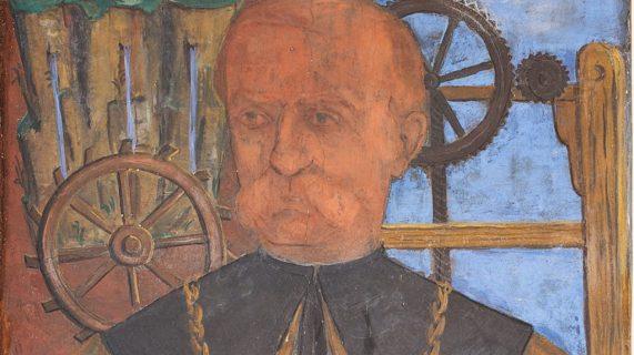Domenico Turazza rettore, ritratto in rettorato