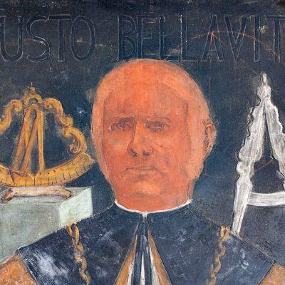 Giusto Bellavitis, ritratto in rettorato