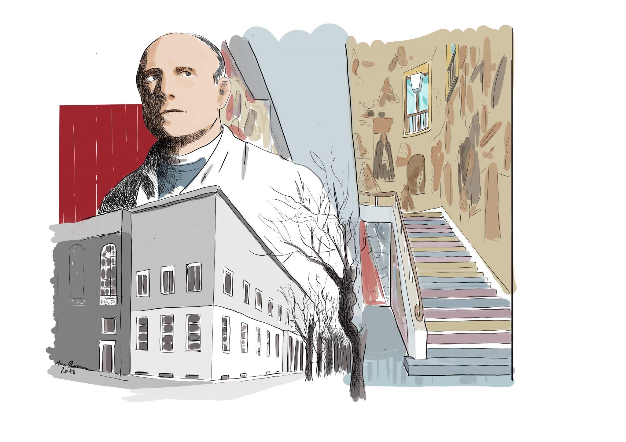 Carlo Anti, Liviano e Palazzo Bo
