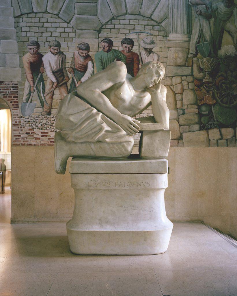 Tito Livio, atrio di Palazzo Liviano