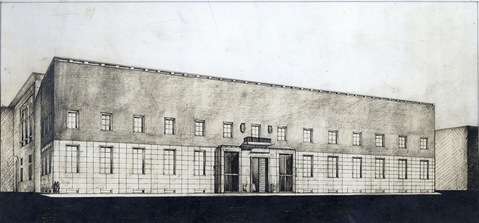 Palazzo Liviano nel progetto di Gio Ponti