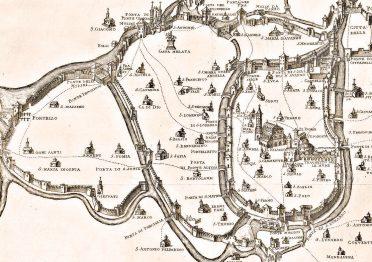 Mappa di Padova del '200