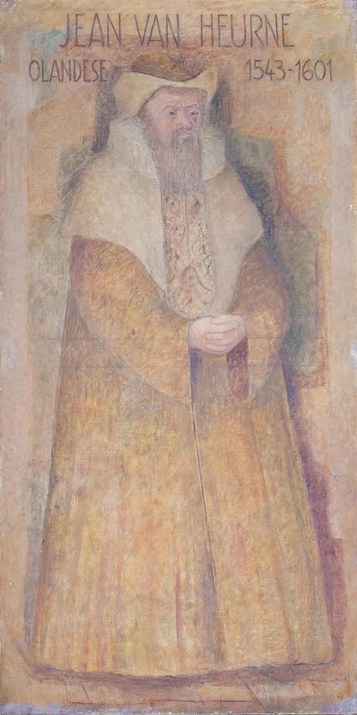 Il restauro della tela di Johannes van Heurne è stato sostenuto da UNOX S.p.A.
