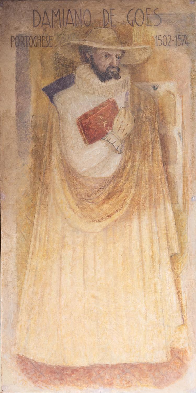 Il restauro della tela di Damião (de) Góis è stato sostenuto Ordine dei Dottori Commercialisti e degli Esperti Contabili di Padova