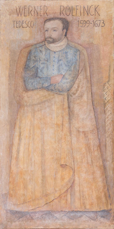 Il restauro della tela di Werner Rolfinck è stato sostenuto da Lundbeck Pharmaceuticals Italy S.p.A.
