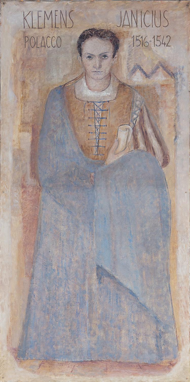Il restauro della tela di Klemens Janicki è stato sostenuto da Graziella Allegri
