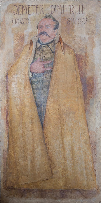 Il restauro della tela di Demeter Dimitrija è stato sostenuto da Nicolò Capuzzo