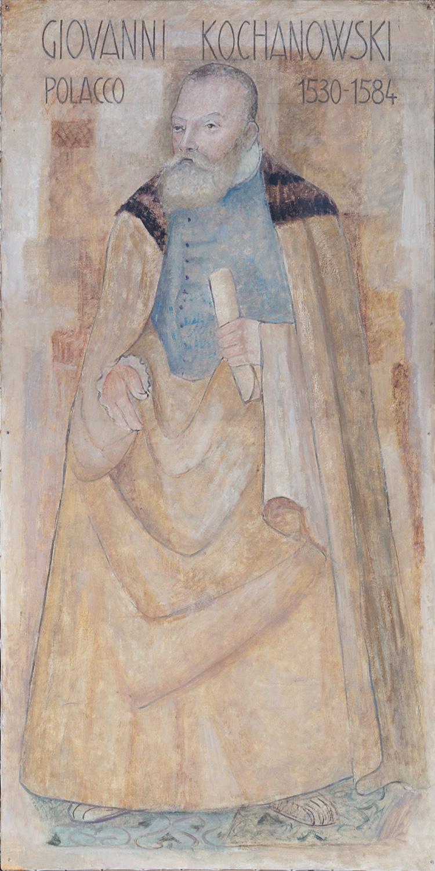 Il restauro della tela di Jan Kochanowski è stato sostenuto da Graziella Allegri